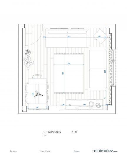 dilek-teslim - Sheet - 2 - Kat Planı