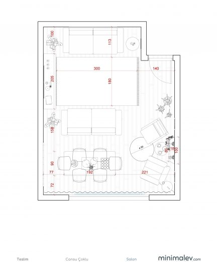 cansu çoklu-a1 teslim - Sheet - 2 - Kat Planı
